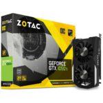 Видеокарта ZOTAC GeForce GTX1050 Ti 4096Mb OC (ZT-P10510B-10L)