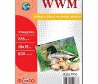 Бумага WWM 10x15